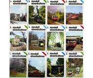 модель Horston 10799-16 Комиссионная модель. Журнал Der Modelleisbahner, 1984 г., номера 1-12. На немецком языке.