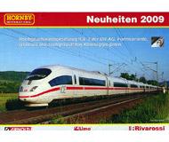 модель Железнодорожный Моделизм 10800-1 Комиссионная модель. Каталог Hornby (Arnold, Lima, Rivarossi) Новинки 2009 г. Масштабы H0,N. 6 стр. На немецком языке.