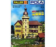 модель Horston 10801-1 Комиссионная модель. Каталог Faller / POLA Новинки 2003 г. Масштабы H0,TT,N,Z. 36 стр. Английский, немецкий, французский языки.