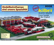 модель Железнодорожный Моделизм 10802-1 Комиссионная модель. Каталог KIBRI Новинки 2002 г. Английский, немецкий, французский языки.