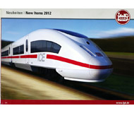 модель Железнодорожный Моделизм 10805-1 Комиссионная модель. Каталог LGB Новинки 2012 г. Масштаб G. На английском и немецком языке.