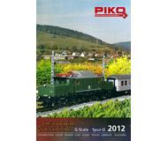модель Железнодорожный Моделизм 10810-1 Комиссионная модель. Каталог PIKO 2012 г. Масштаб G. 128 стр. На английском и немецком языке.