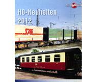 модель Железнодорожный Моделизм 10811-1 Комиссионная модель. Каталог TilligH0Bahn Новинки 2012. Масштаб H0. На английском и немецком языке.