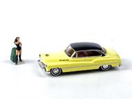 модель ZYX 10873-79 Комиссионная модель. Автомобиль с фигуркой путешествующей девушки. Производство NOCH 44702