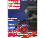 модель Железнодорожный Моделизм 10912-1 Комиссионная модель. Журнал Modell EisenBahner №10 за 1990 год.