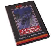 модель Железнодорожный Моделизм 11788-85 Комиссионная модель. DVD Rio Grande of the Rockies. Железная дорога Denver & Rio Grande Western состояла из восхитительной смеси огромных паровозов стандартной колеи, тепловозов первого поколения и узкоколейных паровозов, некоторые из которых были построены еще до рубежа веков. Железнодорожный фанат Irving E. August запечатлел эти великие дни D&RGW на высококачественную 16мм цветную пленку, и после пожертвовал эти редкие фильмы Клубу железнодорожников Роки-Маунтин. Компания WB Video имеет честь предложить вам эти уникальные кадры. В фильме вы увидите огромный паровоз 2-8-8-2, тянущий состав по легендарному перевалу Теннесси, рабочую лошадку тепловоз F-9, и станьте свидетелем расцвета легендарных составов California Zephyr с тепловозами PA. Также в фильме большое количество интересных съемок различных узкоколейных паровозов, тянущих пассажирские и товарные составы. На английском языке.