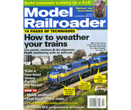 """модель Horston 11865-5 Журнал """"Model Railroader"""". Номер 4 / 2012. На английском языке."""