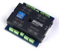модель Железнодорожный Моделизм 13574-94 Комиссионная модель. ESU 51801. SwitchPilot Extension, расширение для SwitchPilot V1.0, мультипротокольный декодер для управления 4 стрелками или аксессуарами типа расцепителей, выключателей уличного освещения, освещения внутри домов и т.п. , 1A. Для систем постоянного (DC) и переменного (AC) тока. Может быть подключен к цифровым станциям ESU ECoS, IB, Marklin CS В штатной коробке. Был установлен на макет, проверен, снят и убран обратно в коробку. Причина продажи - остались лишние после завершения работы над макетом. Фотография выполнена с продаваемой модели.