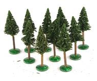 модель Horston 14023-90 Комиссионная модель. Набор деревьев: елки, высота 11-11,5 см, 10 штук.