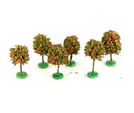 модель Horston 14026-90 Комиссионная модель. Набор плодовые деревья, высота около 5,5 - 6 см, 6 шт.