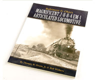 модель Железнодорожный Моделизм 14729-85 Комиссионная модель. Книга Baltimore & Ohio's Magnificent 2-8-8-4 EM-1 Articulated Locomotive (Великолепный Сочлененный паровоз дороги B&O 2-8-8-4 EM-1). Автор Thomas W. Dixon, Jr. Bob Withers. Описание в оригинале: <i>This is the story of B&O's last steam locomotive class, the fabulous EM-1 2-8-8-4 simple articulated, which B&O bought during World War II. Although B&O wanted diesels, war-time restrictions prevented it from ordering any and the EM-1s were built instead. They handled the last years of war traffic and served ten more years, hauling fast freights, coal trains, and even some passenger runs over the heaviest grades of the B&O. This book documents their life in photos, drawings, and maps, as well as mechanical and operational information.</i>   Мягкая обложка, 74 страницы. Издатель: TLC Publishing (2008 г.). ISBN-10: 0939487837. На английском языке. Книга в отличном состоянии. Фотография сделана с продаваемой книги.