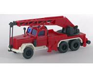 модель Железнодорожные модели 15567-54 Пожарный автомобиль MAGIRUS KW 15. Производство Wiking. Артикул по каталогу Wiking 630. Состояние новой модели, коробочного хранения. В родной упаковке. Фотография выполнена с продаваемой модели.