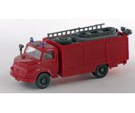 модель Железнодорожный Моделизм 15572-54 Пожарный автомобиль с лестницей и лодкой на крыше RW 2. Производство Wiking. Артикул по каталогу Wiking 20 623 Без коробки. Фотография выполнена с продаваемой модели.