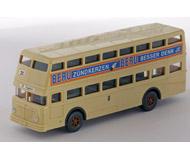 модель Железнодорожный Моделизм 15575-54 Двухэтажный городской автобус D 2 U. Производство Wiking. Артикул по каталогу Wiking 720 1 29. Состояние новой модели, коробочного хранения. В родной упаковке. Фотография выполнена с продаваемой модели.