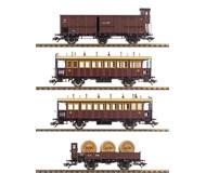 модель Horston 15893-54 Комиссионная модель. Набор старинных вагонов. Производство Marklin. Артикул по каталогу 43981. В коробке.