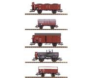 модель Horston 15894-54 Комиссионная модель. Набор старинных вагонов. Производство Marklin. Артикул по каталогу 46090. В коробке.