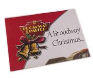 модель Железнодорожные модели 16316-85 Комиссионная модель. Рождественский постер-каталог Broadway Limited за 2005 год. Каталог размещен с обратной стороны постера. На английском языке.