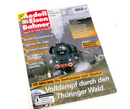 """модель Железнодорожные модели 16322-85 Журнал """"Modell EisenBahner"""". Номер 11/2009. 100 стр. На немецком языке."""