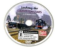 модель Железнодорожные модели 16323-85 Комиссионная модель. DVD Lausfsteg der Dampflokstars. На немецком языке. Приложение к журналу Modell EisenBahner
