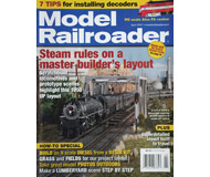 """модель ModelRailroader 16840-85 Журнал """"Model Railroader"""". Номер 4 / 2007. На английском языке."""