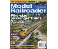 """модель ModelRailroader 16842-85 Журнал """"Model Railroader"""". Номер 6 / 2007. На английском языке."""