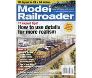 """модель ModelRailroader 16852-85 Журнал """"Model Railroader"""". Номер 4 / 2008. На английском языке."""