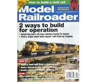 """модель ModelRailroader 16865-85 Журнал """"Model Railroader"""". Номер 8 / 2009. На английском языке."""