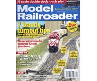 """модель Железнодорожный Моделизм 16871-85 Журнал """"Model Railroader"""". Номер 8 / 2010. На английском языке."""