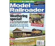 """модель ModelRailroader 16875-85 Журнал """"Model Railroader"""". Номер 4 / 2010. На английском языке."""