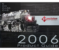 модель Железнодорожные модели 16929-85 Каталог Precision Craft Models 2006 года. Масштабы HO, N, On3. 80 стр. На английском языке.
