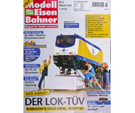 "модель Horston 16935-85 Журнал ""Modell EisenBahner"". Номер 2/2008. На немецком языке."