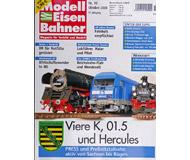 """модель Железнодорожные модели 16943-85 Журнал """"Modell EisenBahner"""". Номер 10/2008. На немецком языке."""