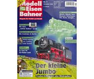 """модель Железнодорожные модели 16944-85 Журнал """"Modell EisenBahner"""". Номер 11/2008. На немецком языке."""