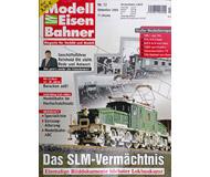 """модель Железнодорожные модели 16945-85 Журнал """"Modell EisenBahner"""". Номер 12/2008. На немецком языке."""