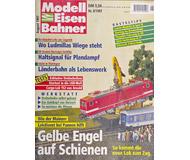 """модель Железнодорожный Моделизм 16946-85 Журнал """"Modell EisenBahner"""". Номер 8 / 1997. На немецком языке."""