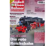 """модель Железнодорожные модели 16949-85 Журнал """"Modell EisenBahner"""". Номер 4/2009. На немецком языке."""