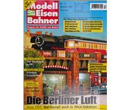 """модель Железнодорожные модели 16950-85 Журнал """"Modell EisenBahner"""". Номер 12/2009. На немецком языке."""