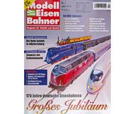 """модель Железнодорожные модели 16951-85 Журнал """"Modell EisenBahner"""". Номер 4/2010. На немецком языке."""