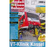"""модель Железнодорожные модели 16952-85 Журнал """"Modell EisenBahner"""". Номер 6/2010 На немецком языке."""