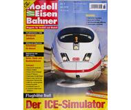 """модель Железнодорожные модели 16953-85 Журнал """"Modell EisenBahner"""". Номер 7/2010 На немецком языке."""