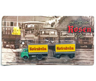 модель Horston 17054-54 Комиссионная модель. Редкая модель ГДР-вского грузовика IFA W50 с прицепом, специальная подарочная ограниченная серия, выпуск середины 2000-х годов, теперь уже раритет. Абсолютно новая модель, блистер запечатан, не вскрывался. Отличный вариант для размещения как на железнодорожной платформе, так и на полке. Фотография выполнена с продаваемой модели.
