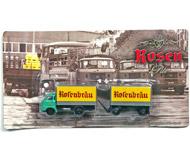 модель Железнодорожный Моделизм 17056-54 Комиссионная модель. Редкая модель ГДР-вского грузовика IFA W50 с прицепом, специальная подарочная ограниченная серия, выпуск середины 2000-х годов, теперь уже раритет. Абсолютно новая модель, блистер запечатан, не вскрывался. Отличный вариант для размещения как на железнодорожной платформе, так и на полке. Фотография выполнена с продаваемой модели.