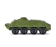модель ZYX 17070-54 Комиссионная модель. Серия бронетехники Советской Армии и армий Варшавского Договора. БТР. Отломаны стволы пулеметов. Без коробки.