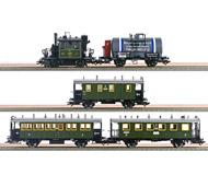 модель Модель Паровоза 17084-54 Комиссионная модель. Набор Walhalla: паровоз PtL 2/2, багажный вагон, два пассажирских вагона и цистерна. Эпоха I. Установлен цифровой декодер. Паровоз не работает. Производство Märklin. Артикул по каталогу Märklin 26834. В коробке. Модель паровоза - для трёхрельсовой системы Märklin (не подходит для стандартной двухрельсовой DC).