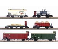 модель Железнодорожный Моделизм 17085-54 Комиссионная модель. Набор товарный поезд Geislinger Grade, первой эпохи. Производство Märklin. Артикул по каталогу Märklin 45101. В коробке.