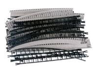 модель Железнодорожные модели 17127-93 Комиссионная модель. Набор балластной призмы для рельс ROCOLine. В комплекте: 9 прямых (у трех срезан угол для соединения со стрелками) и 12 радиусных 42524. Фотография выполнена с продаваемой модели.