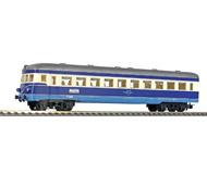 модель Железнодорожный Моделизм 17134-49 Комиссионная модель. Четырёхосный пассажирский вагон с кабиной, принадлежность OBB. C интерьером. Производство Kleinbahn, Австрия. В коробке. Фотография выполнена с продаваемой модели.