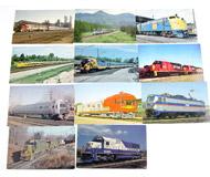 модель Железнодорожные модели 17474-54 Комиссионная модель. Почтовые карточки (открытки) на жд тематику. Чистые. 11 шт. Цена за все.