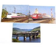 модель Железнодорожные модели 17477-54 Комиссионная модель. Почтовые карточки (открытки) на жд тематику. Чистые. 3 шт. Цена за все.
