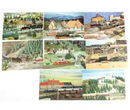 модель Horston 17482-54 Комиссионная модель. Почтовые карточки (открытки) на тему жд макетов. Чистые. 8 шт. Цена за все.